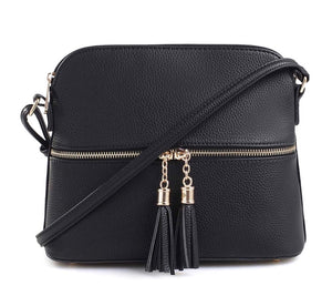 Ellie Front Zip Crossbody