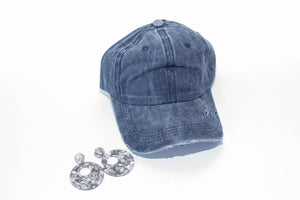 Cory Distressed Hat
