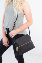 Load image into Gallery viewer, Ellie Front Zip Crossbody