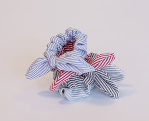 Lilly Striped Scrunchie