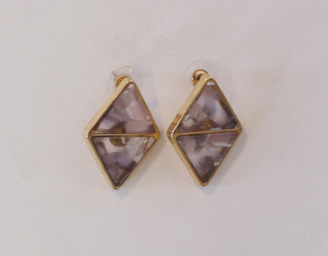 Zoey Double Triangle Studs