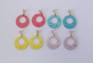 Maya Circle Earrings