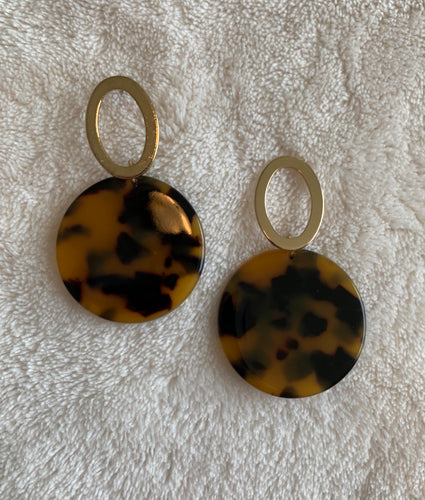 Layla Leopard Earrings