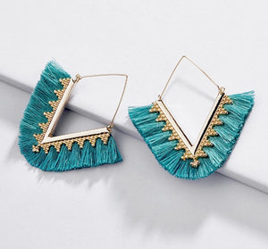 Amelia Fringe Earrings