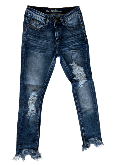 Angie Frayed Skinnies