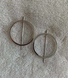 Natalie Circle Earrings