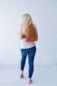Lauren Zip Backpack