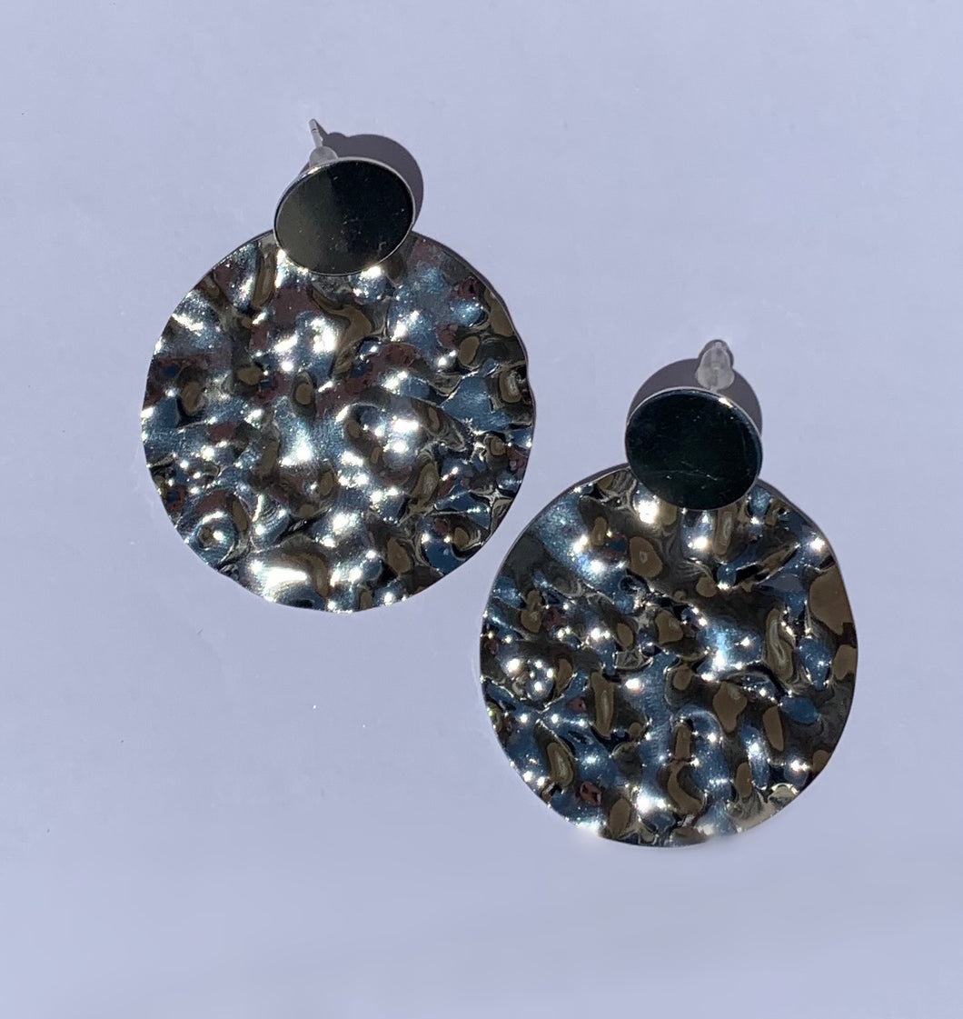 Taylor Hammered Earrings