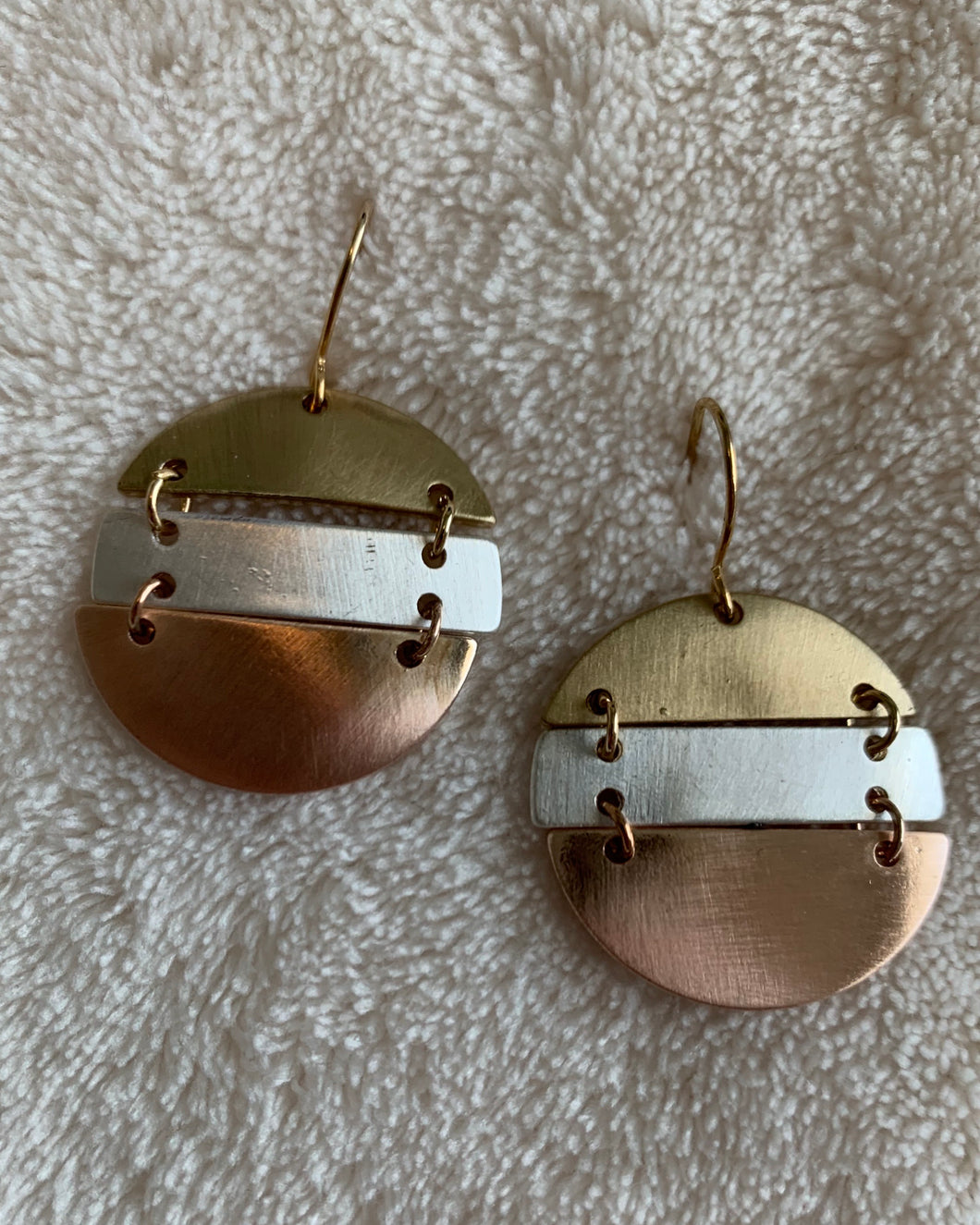 Rylee Round Drop Earrings