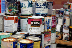 Paint tin disposal waste paint disposal hazexperts