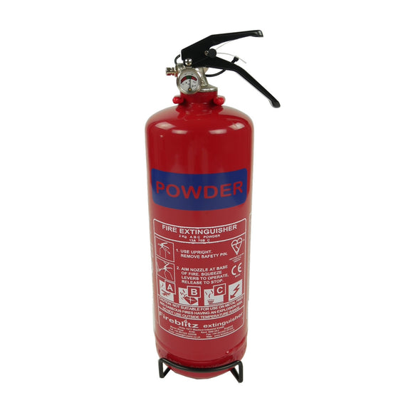 ADR 2kg Dry Powder Fire Extinguisher