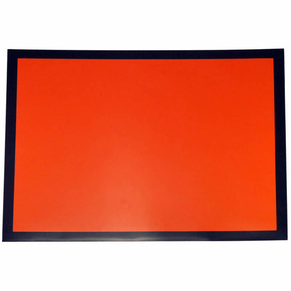 ADR 300 x 400mm Magnetic Orange Plate Hazchem
