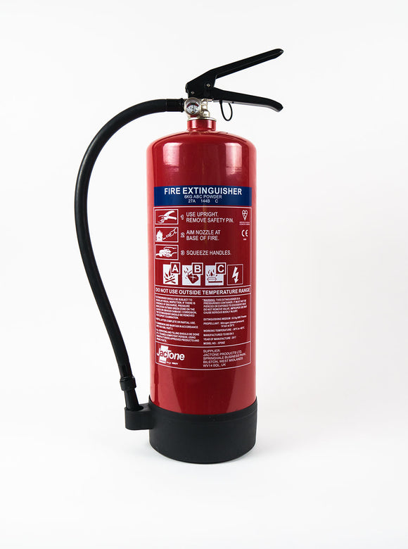 6kg Powder Fire Extinguisher, ADR Driver Compliant