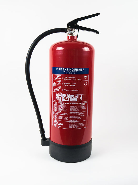 9kg Dry Powder Fire Extinguisher ADR Driver HGV