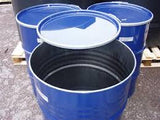 Reconditioned 205ltr clip top steel drum