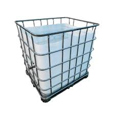 Cut Off IBC 1000 ltr | Waste storage container