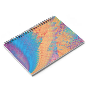 Spiral Notebook - Rainbow Heart 1