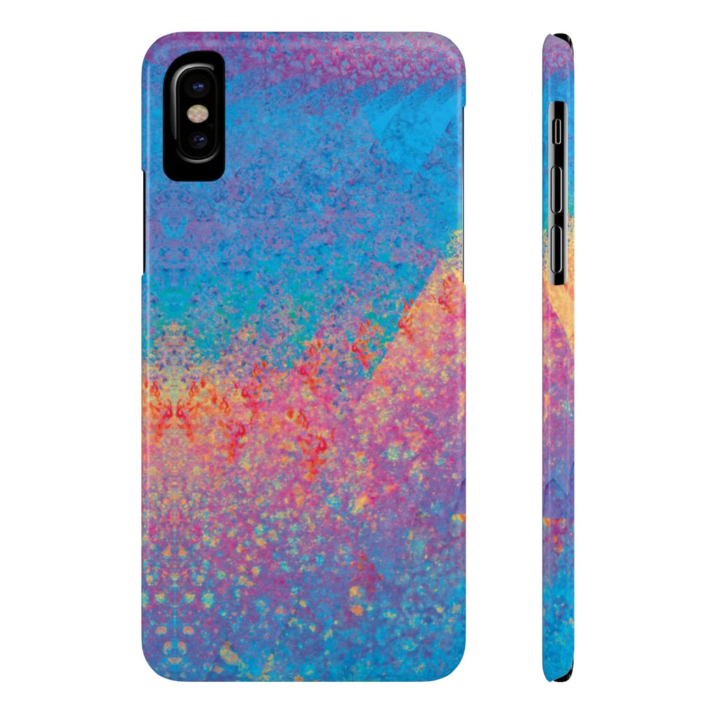 Case-Mate Slim Phone Case - Rainbow Heart 2