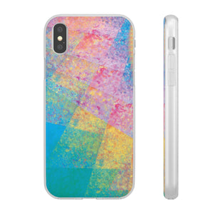 Flexible iPhone Case - Rainbow Heart 1