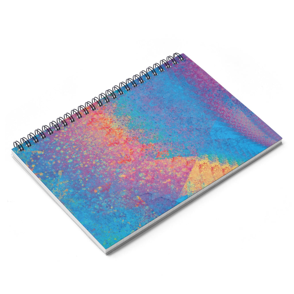 Spiral Notebook - Rainbow Heart 2