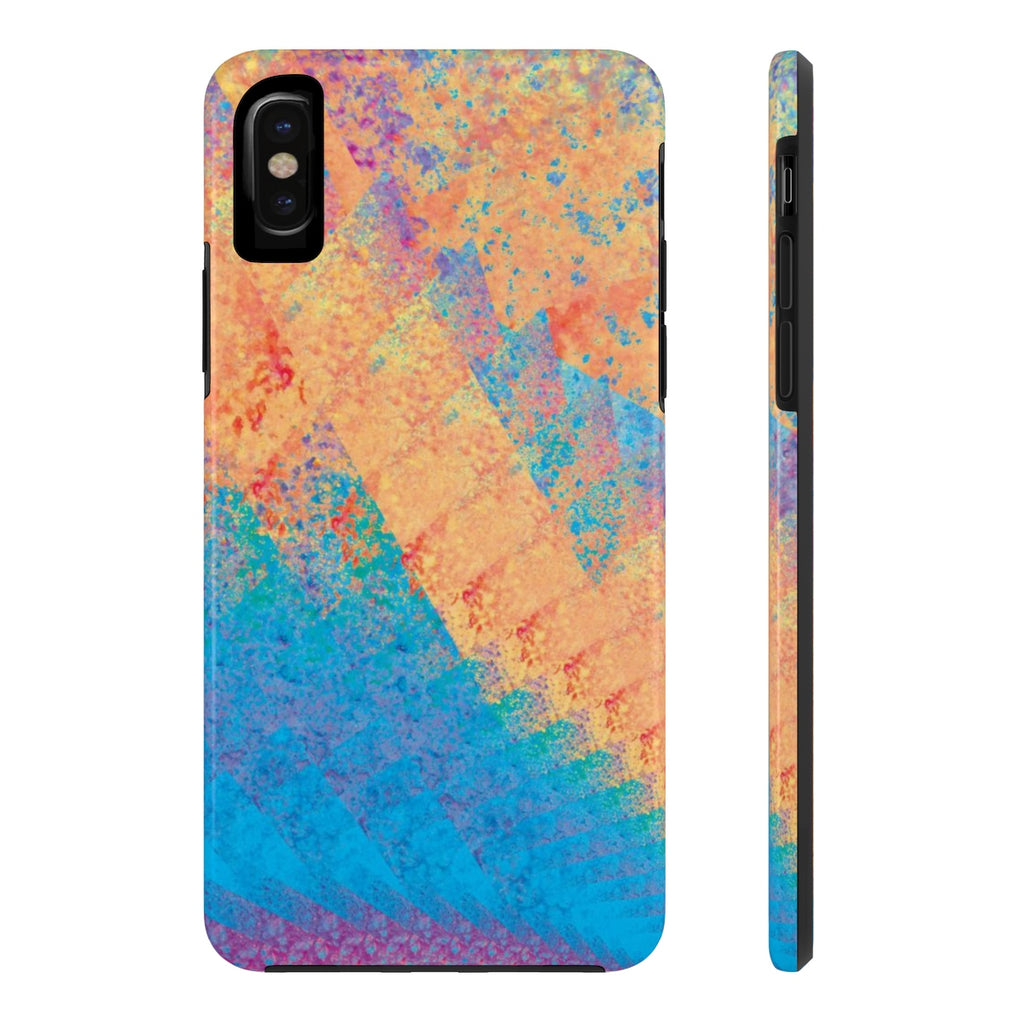 Case-Mate Tough Phone Case - Rainbow Heart 1