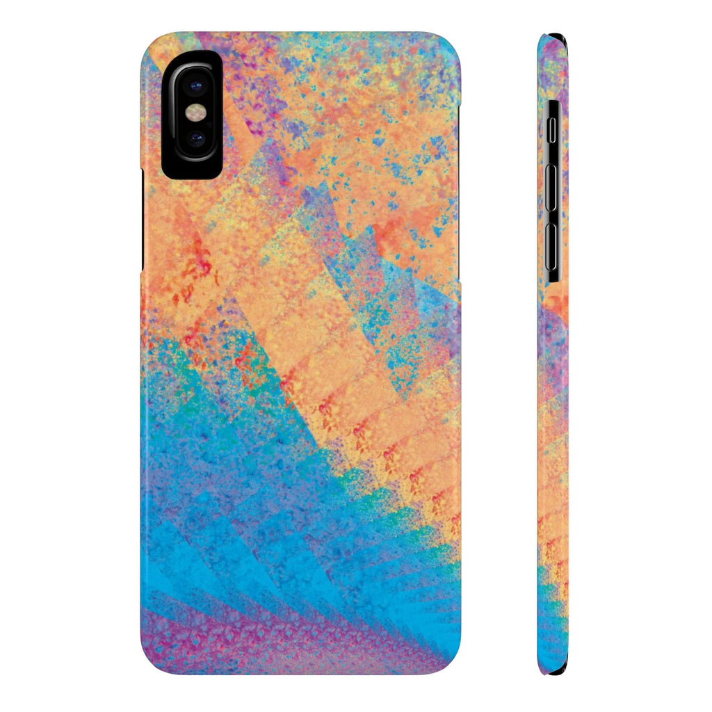 Case-Mate Slim Phone Case - Rainbow Heart 1