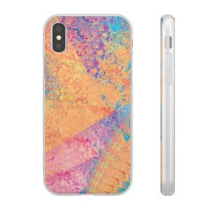 Flexible iPhone Case - Rainbow Heart 3