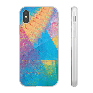 Flexible iPhone Case - Rainbow Heart 2