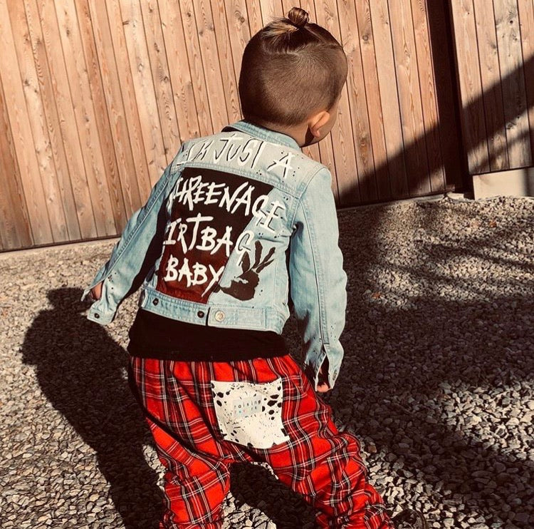 Custom Kids Denim Jacket
