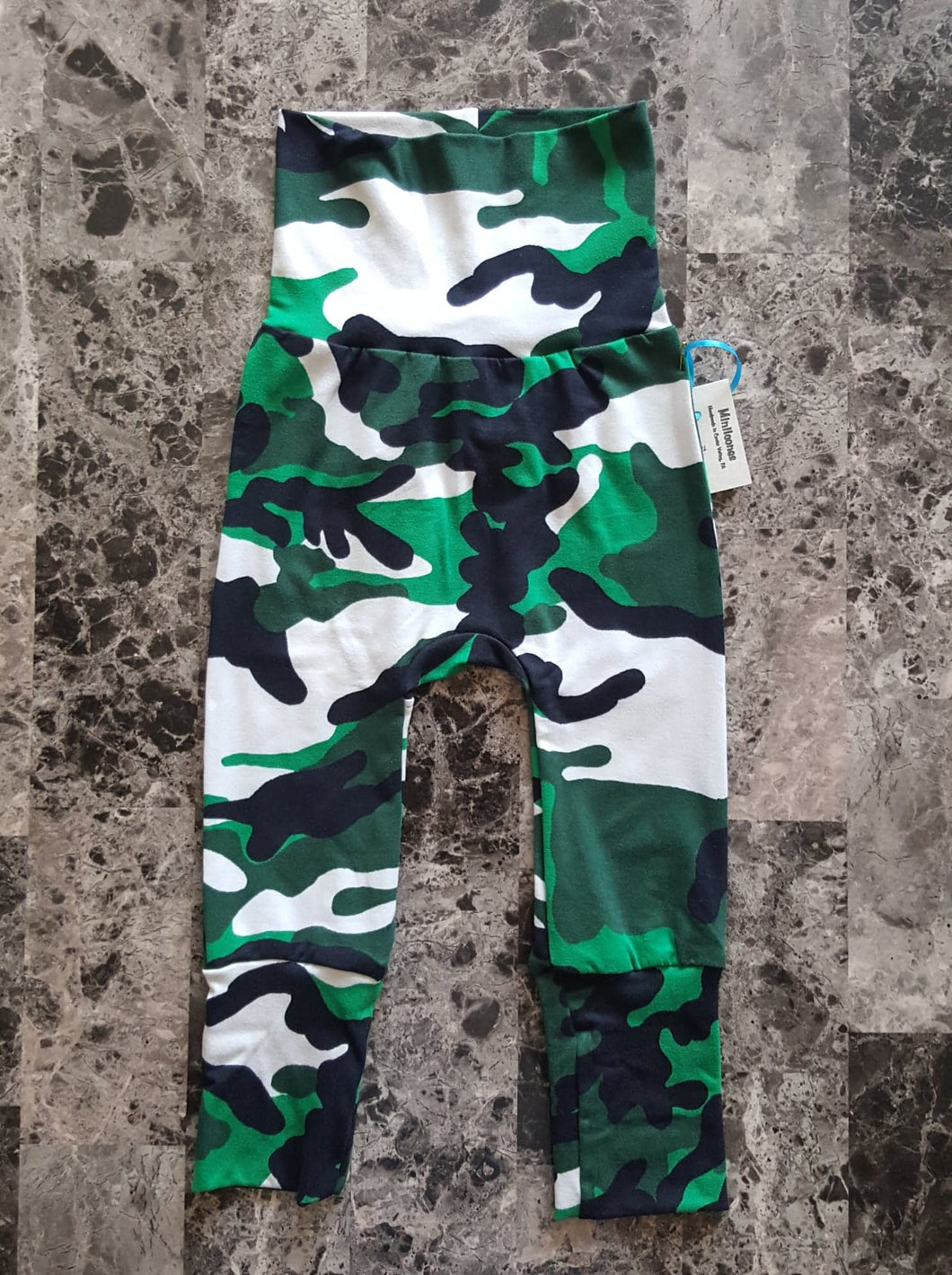 Green & Black Camouflage ~ Miniloones