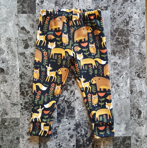 Leggings for infants and toddlers ~ Forest Animals