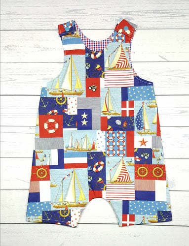 Summer Romper ~ Boys ~ 2T