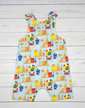 Load image into Gallery viewer, Beach themed Summer Romper ~ Infants ~ multiple sizes