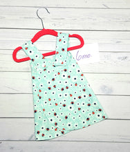 Load image into Gallery viewer, Lady Bugs and Flowers, Reversible Infant & Toddler Dress