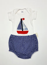 Load image into Gallery viewer, Body suit and diaper cover set ~ 12 months