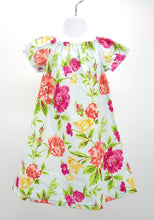 Load image into Gallery viewer, Floral peasant style dress in size 4T *