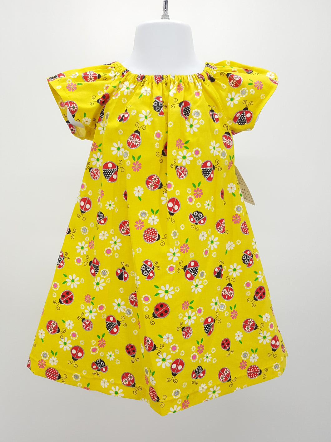 Simply Sweet Girls Ladybug Dress