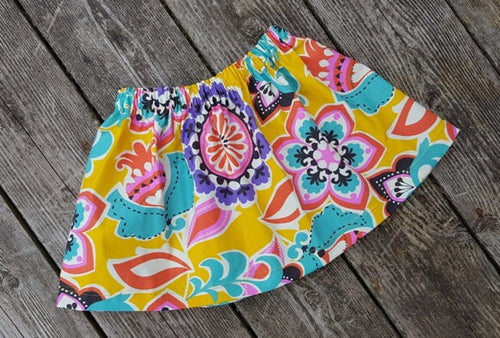 Summer Floral Skirt Size 4T