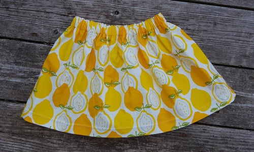 Summer Lemon Skirt Size 12 months