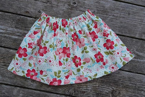 Summer Floral Skirt Size 5T