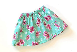 Summer Floral Skirt Sizes: 18mo, 2T, & 3T