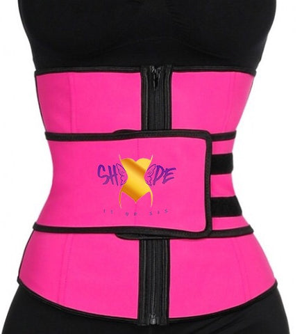 Compression Zipper Waist Cincher.