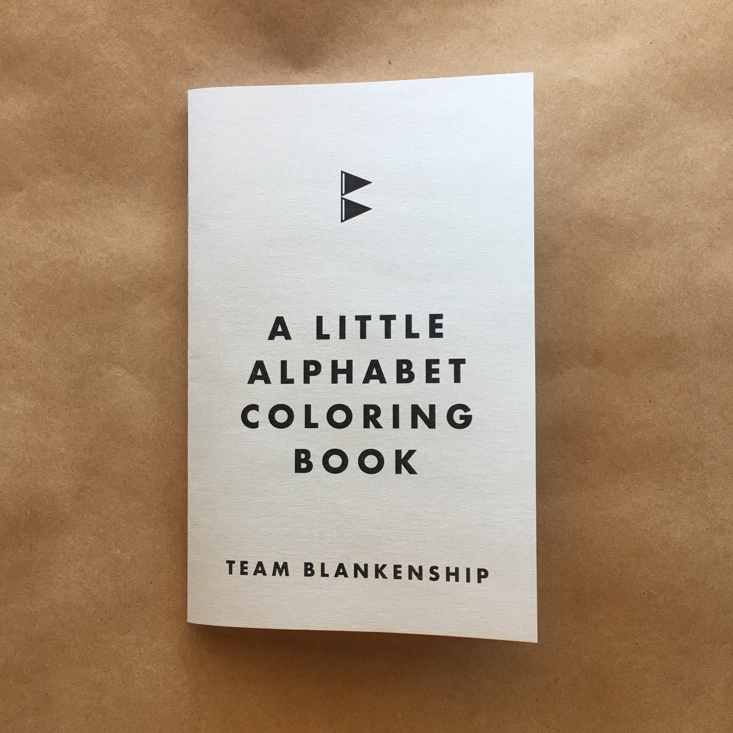 A Little Alphabet Coloring Book