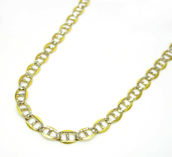 Gold Pave Mariner Chain
