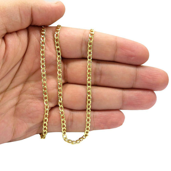 14K Yellow Gold Cuban Chain 4.5MM