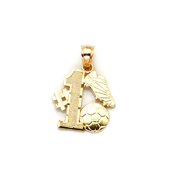 10K Yellow Gold Fashion Pendant 1.00 Grams - Jawa Jewelers