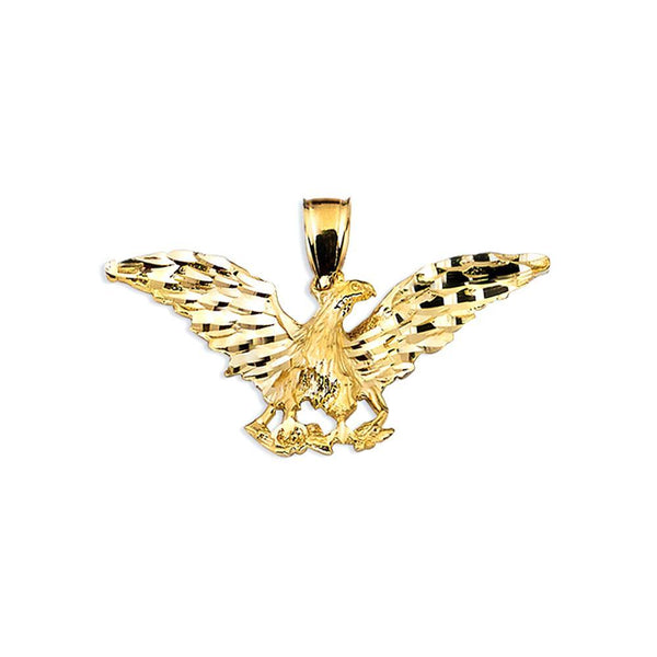 10K Yellow Gold 3.30 Grams Fashion Gold Pendent - Jawa Jewelers