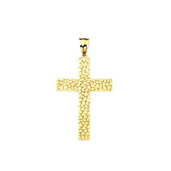 Gold 10.30 Grams Cross Pendent