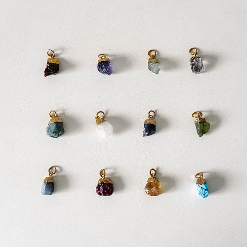 Raw Birthstones