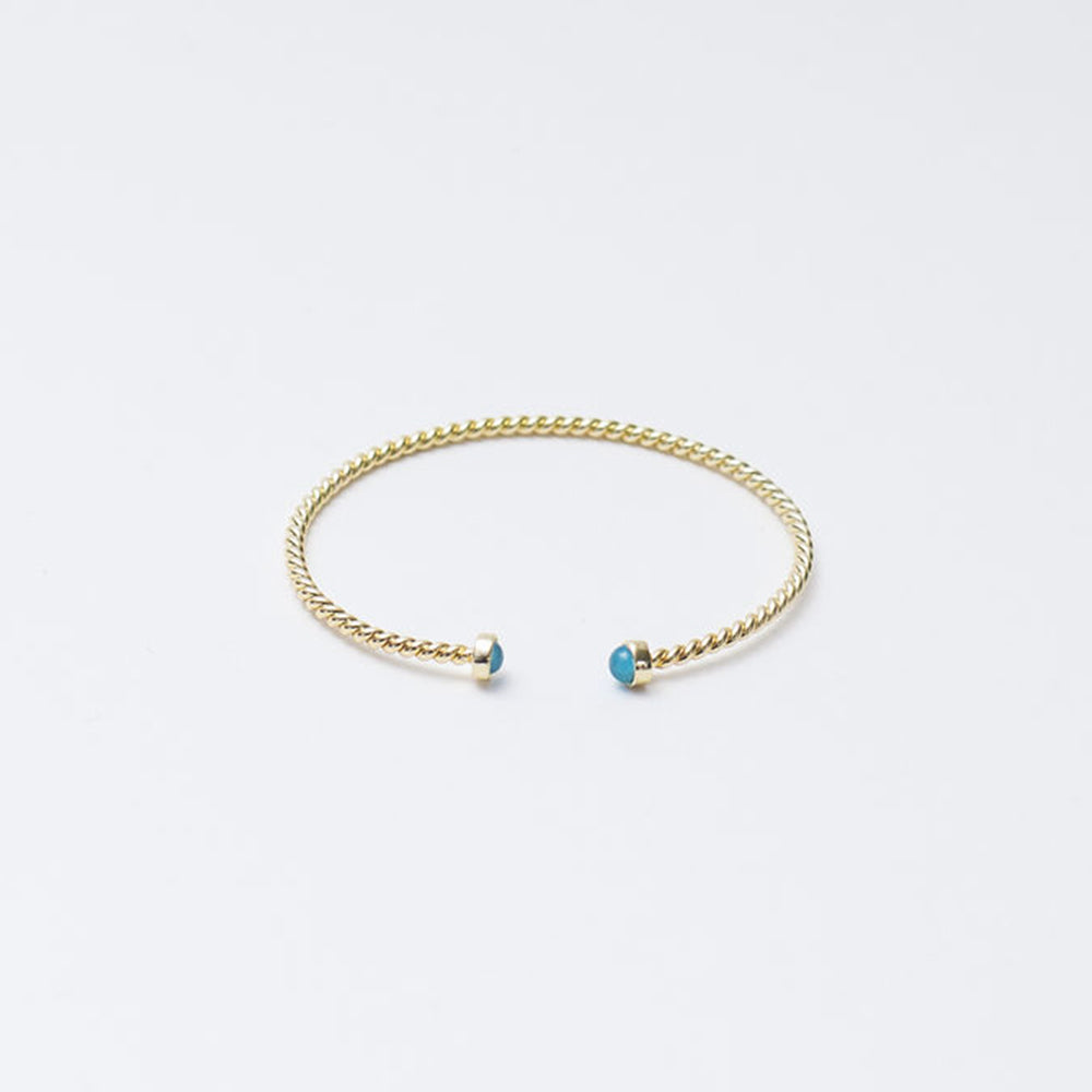 Lulu Cuff - Blue Cat's Eye